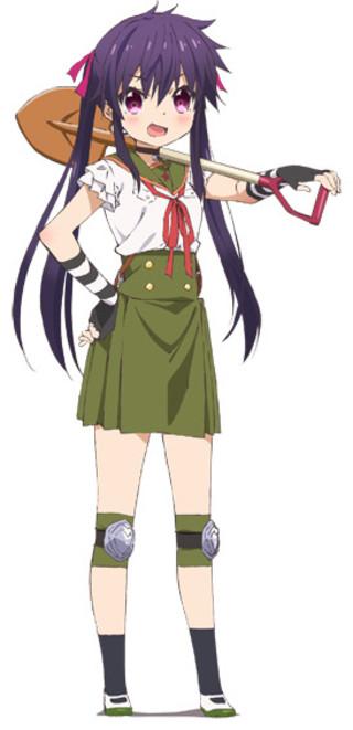 TVアニメ「がっこうぐらし!」小澤亜李演じるくるみのキャラクター
