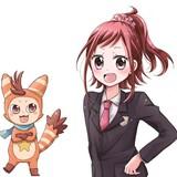 劇場アニメ「ポッピンQ」のコミカライズが「ぷっちぐみ」「ちゃお」の2誌でスタート