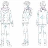 「KING OF PRISM」新作、一条シンらメインキャラクター3人の設定画が公開