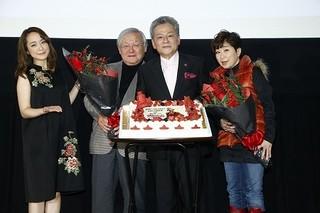 「ガンダム THE ORIGIN IV 運命の前夜」最終上映舞台挨拶 37年の歳月を経てのリベンジに安彦良和総監督も満足