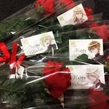 4王子のバレンタインフラワー