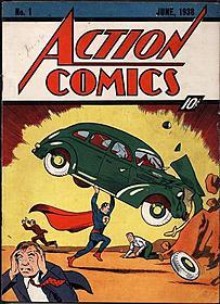 オークションに出品された「アクション・コミックス」