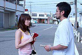 映画「闇金ウシジマくん」に出演する大島優子と主演の山田