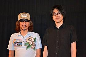 トークショーを行った三木聡監督と宇野常寛氏「俺俺」