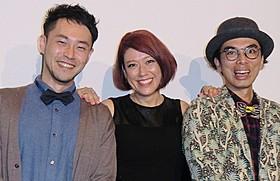 (左から)西田征史監督、LiLiCo、片桐仁「小野寺の弟・小野寺の姉」