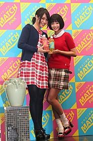 イベントに登壇した広瀬アリス、広瀬すず姉妹「海街diary」