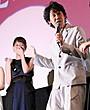 戸田恵梨香、大泉洋の顔がツボ! 笑い止まらず涙「見ないでくださいよ」