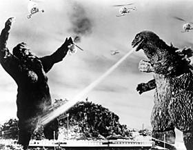 1962年日本公開の「キングコングVSゴジラ」