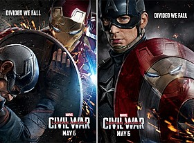 「シビル・ウォー キャプテン・アメリカ」は4月29日公開「シビル・ウォー キャプテン・アメリカ」