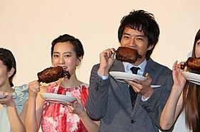 「マンガ肉と僕」主演の三浦貴大と杉野希妃監督「マンガ肉と僕」
