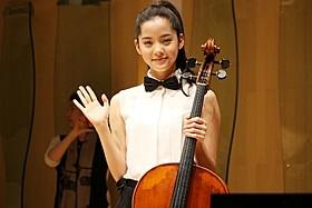 台湾人チェロ奏者・Nana