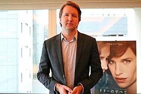 作品への熱い思いを語ったトム・フーパー監督「英国王のスピーチ」