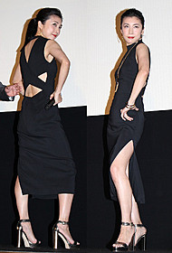 大胆なドレスで会場を魅了した竹内結子「殿、利息でござる!」