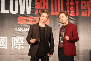 台湾での人気ぶりを見せ付けたTAKAHIROと登坂広臣「HiGH&LOW THE RED RAIN」