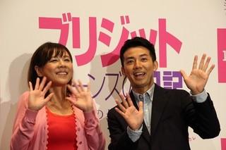 綾部祐二と共に観客の恋愛相談に真剣に回答「ブリジット・ジョーンズの日記 ダメな私の最後のモテ期」