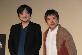 細田守監督と是枝裕和監督「おおかみこどもの雨と雪」