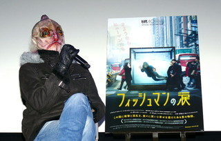 トークイベントに登壇した百武朋氏「フィッシュマンの涙」