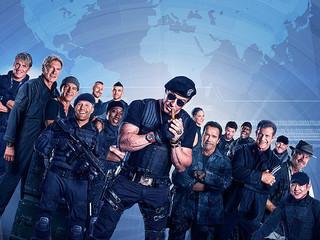「エクスペンダブルズ3 ワールド ミッション」の一場面「エクスペンダブルズ」