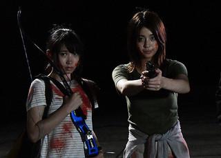 銃やアーチェリー、日本刀で吸血鬼と戦う