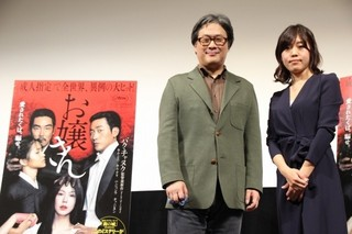 パク・チャヌク監督と小説家の島本理生氏