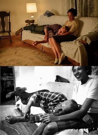 ラビング夫妻とジョエル・エドガートン&ルース・ネッガ「ラビング 愛という名前のふたり」