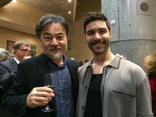 フランスを訪れた黒沢清監督と「ダゲレオタイプの女」主演のタハール・ラヒム