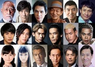 100人超の豪華俳優陣が発表!「HiGH&LOW THE MOVIE」