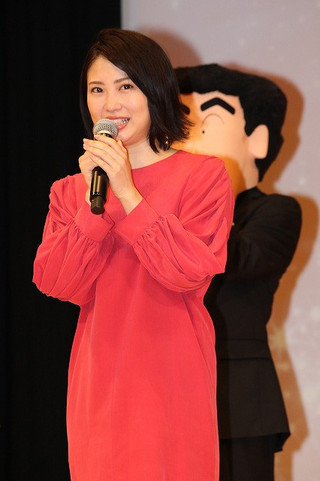 結婚願望を明かした志田未来「映画クレヨンしんちゃん 襲来!!宇宙人シリリ」
