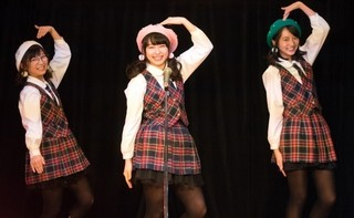 ネクストブレイク必至の3人が 独特ダンス&歌唱を披露