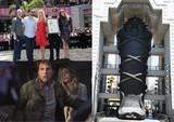 トム・クルーズ&ソフィア・ブテラ、「ザ・マミー」全長23mの巨大石棺に感激!