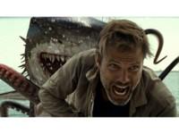 シャークトパス VS 狼鯨