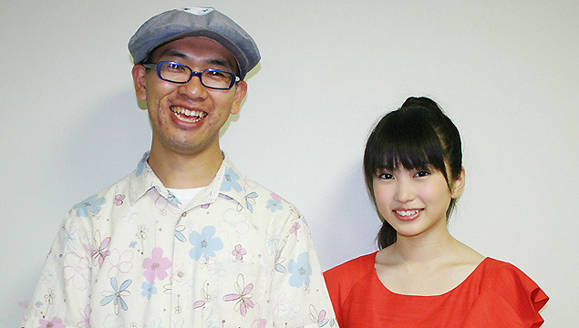 7月1日の完成披露試写会で初めてマスコミの前に登場した米林宏昌監督と、声優初挑戦の志田未来