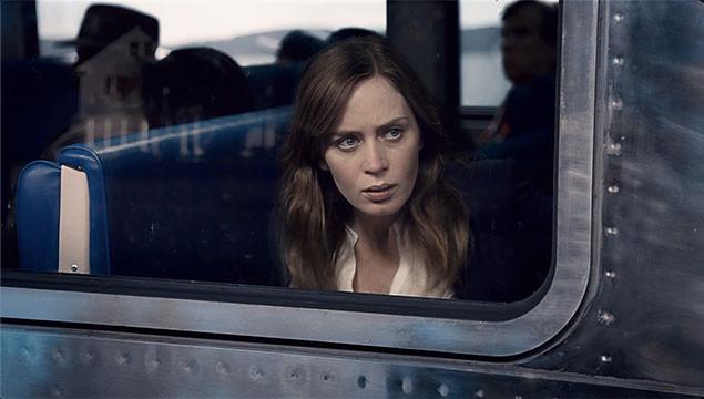 ヒロイン、レイチェルを演じるのは「ボーダーライン」の実力派エミリー・ブラント