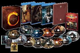 【完全数量限定生産】ホビット トリロジーBOX 3D&2D ブルーレイセット (12 枚組/デジタルコピー付)